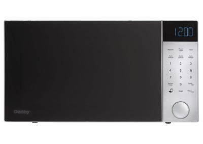 Nouveau Wave 1.1 Cu. Ft. 1000W Countertop Microwave Oven in Silver