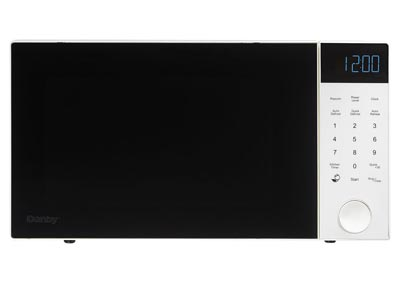 Nouveau Wave 1.1 Cu. Ft. 1000W Countertop Microwave Oven in White