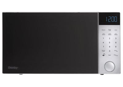 Nouveau Wave 1.2 Cu. Ft. 1200W Countertop Microwave Oven in Silver