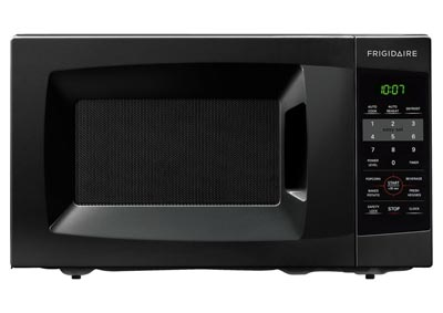 0.7 Cu. Ft. 700W Countertop Microwave - Black