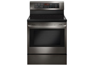 6.3 Cu. Ft. Freestanding Electric Range - Black Stainless Steel