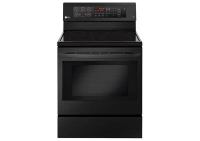 30 in. Freestanding Electric Range in Matte Black Stainless Steel