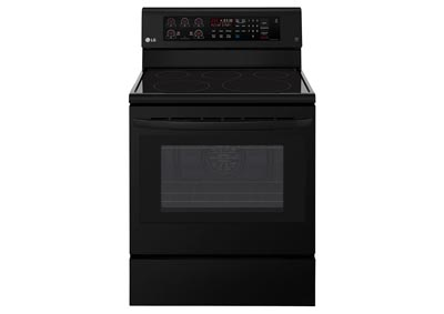 6.3 Cu. Ft. Freestanding Electric Range - Black