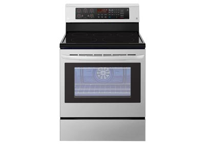 6.3 Cu. Ft. Freestanding Electric Range - Stainless Steel
