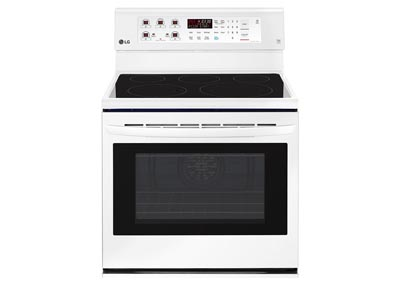 6.3 Cu. Ft. Freestanding Electric Range - White