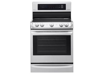 6.3 Cu. Ft. Freestanding Electric Range Oven- Stainless Steel