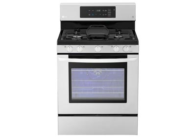 30 in. Freestanding Gas Range - Stainless Steel