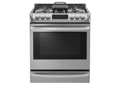 6.3 Cu. Ft. Slide-In Gas Range - Stainless Steel