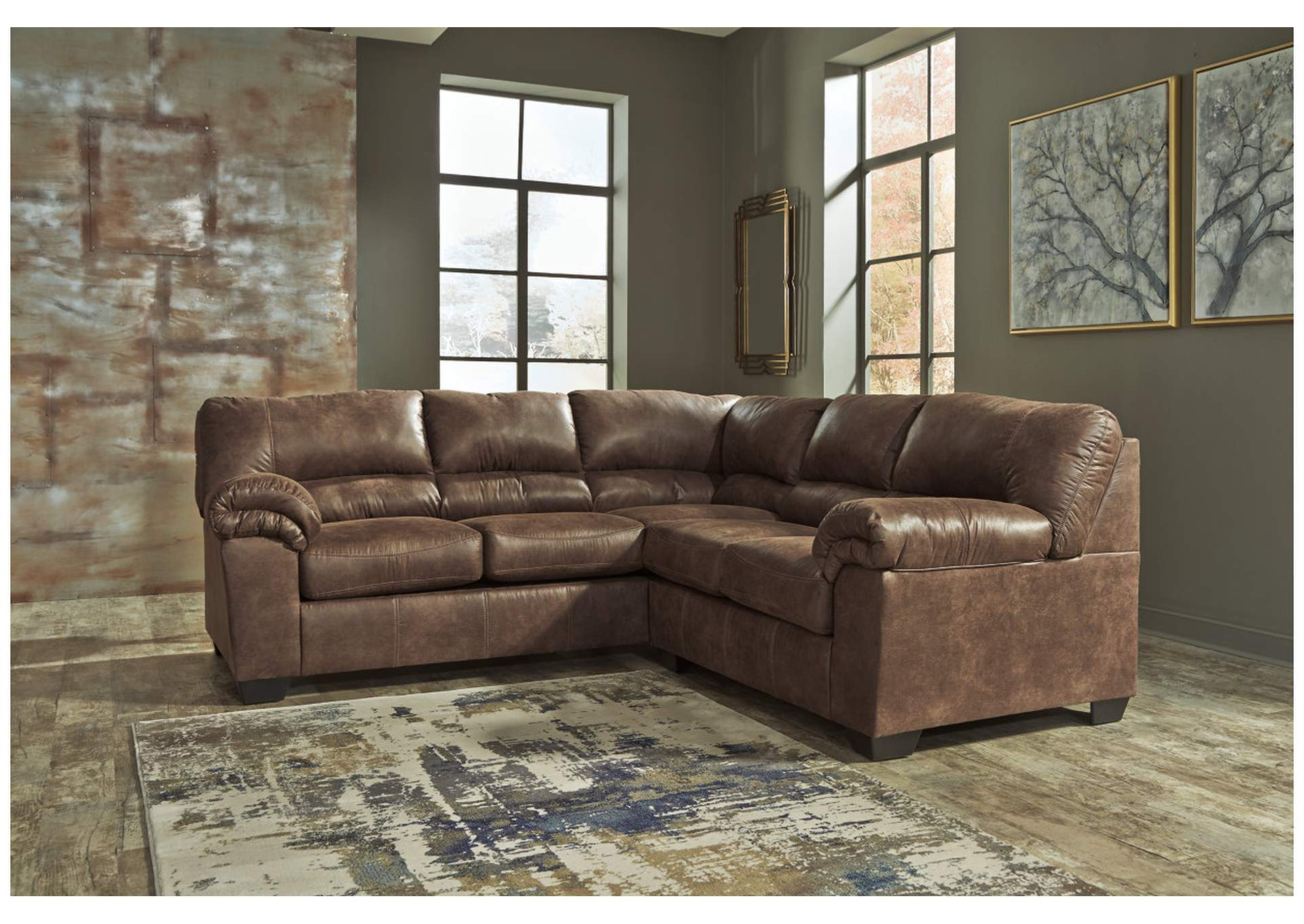 Bladen Coffee RAF Sectional,Signature Design By Ashley