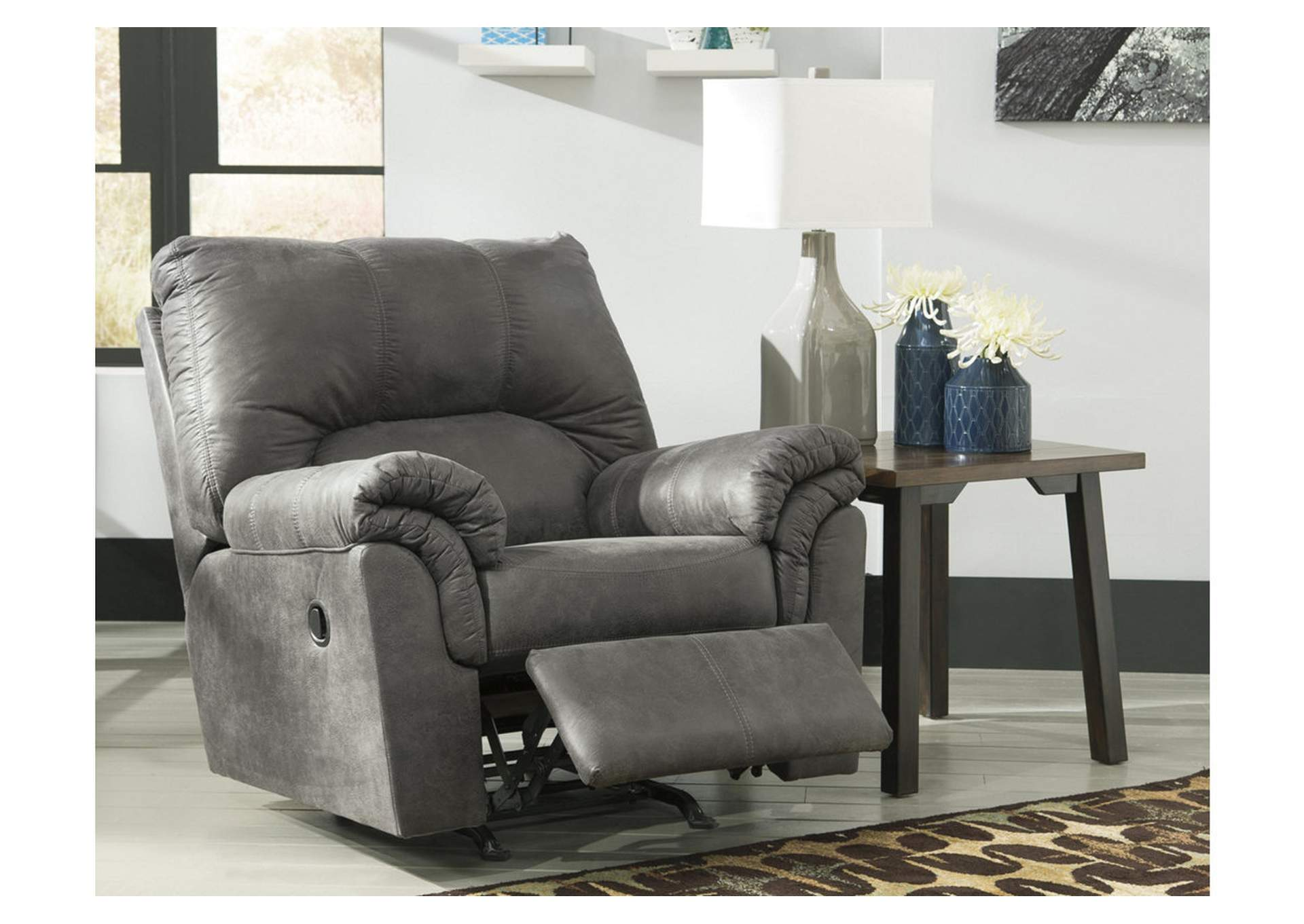 Bladen Slate Rocker Recliner,Signature Design By Ashley