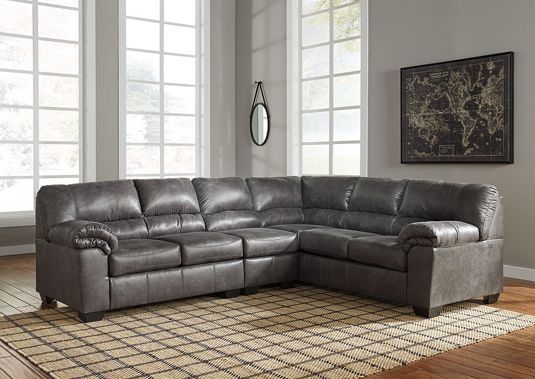Bladen Slate LAF Extended Sectional,Signature Design By Ashley