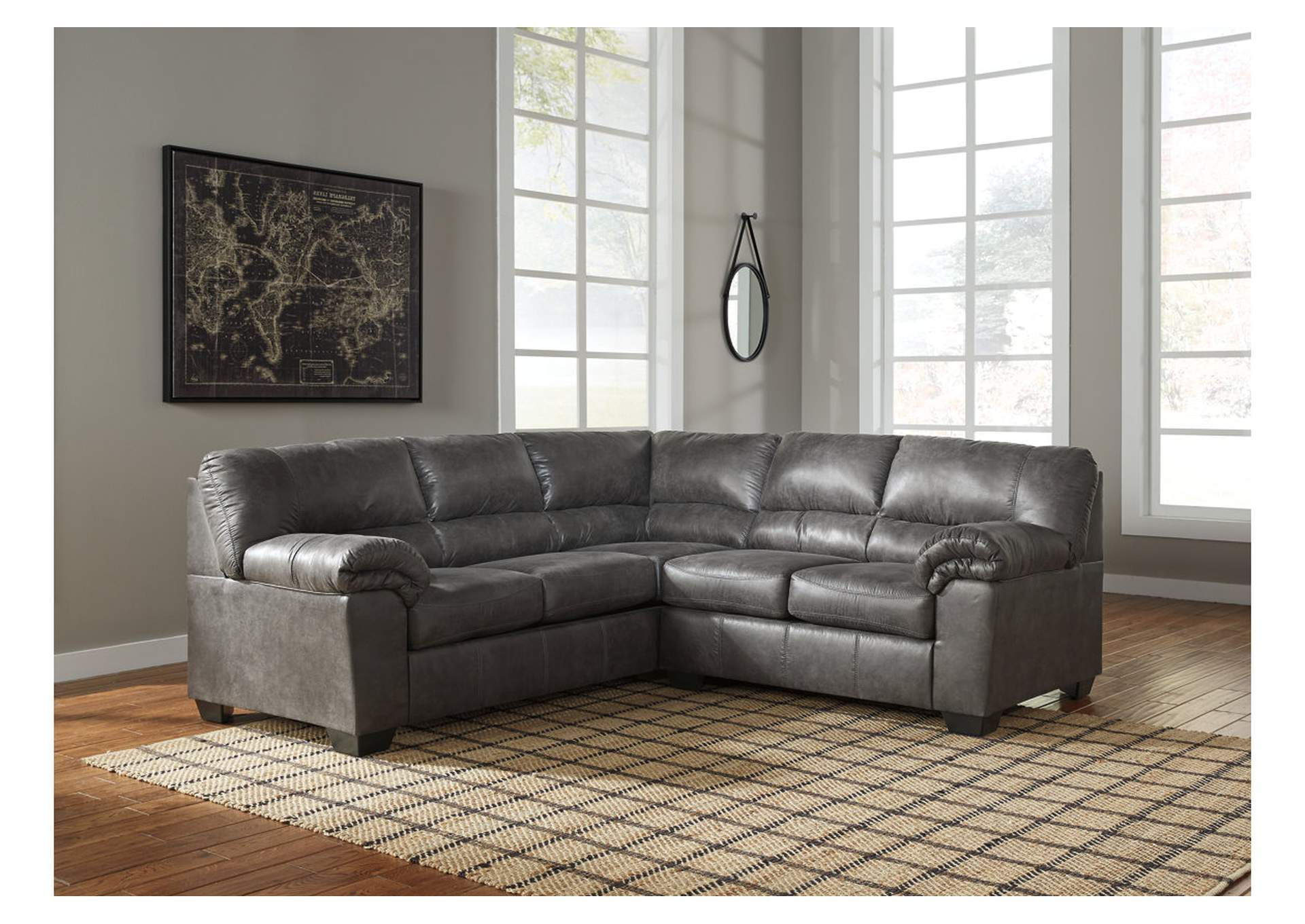 Bladen Slate LAF Sectional,Signature Design By Ashley