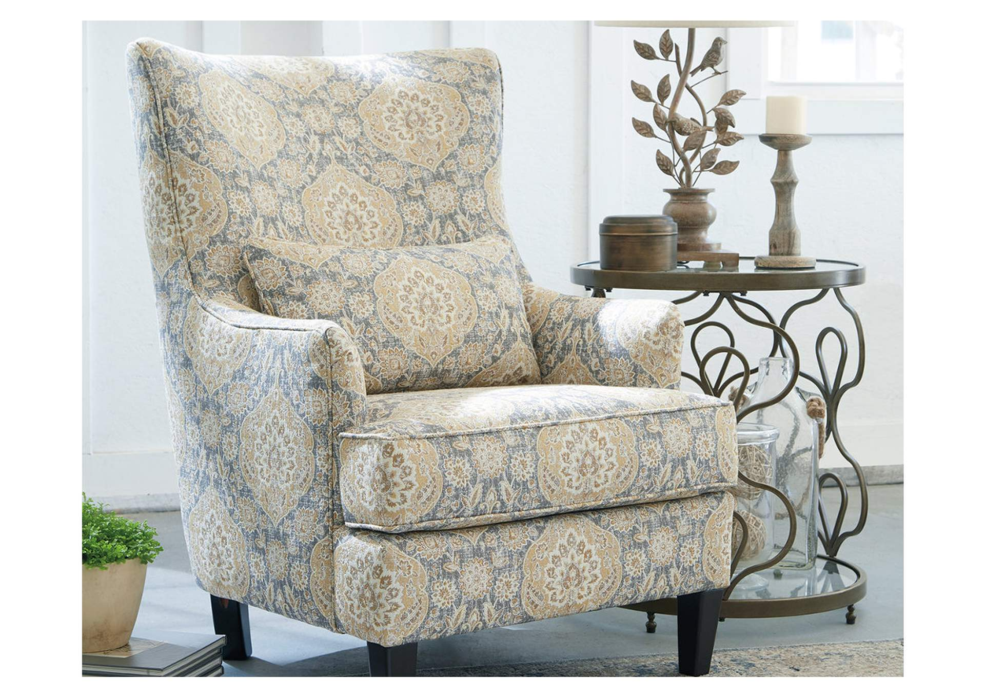 Aramore Fog Accent Chair,Ashley