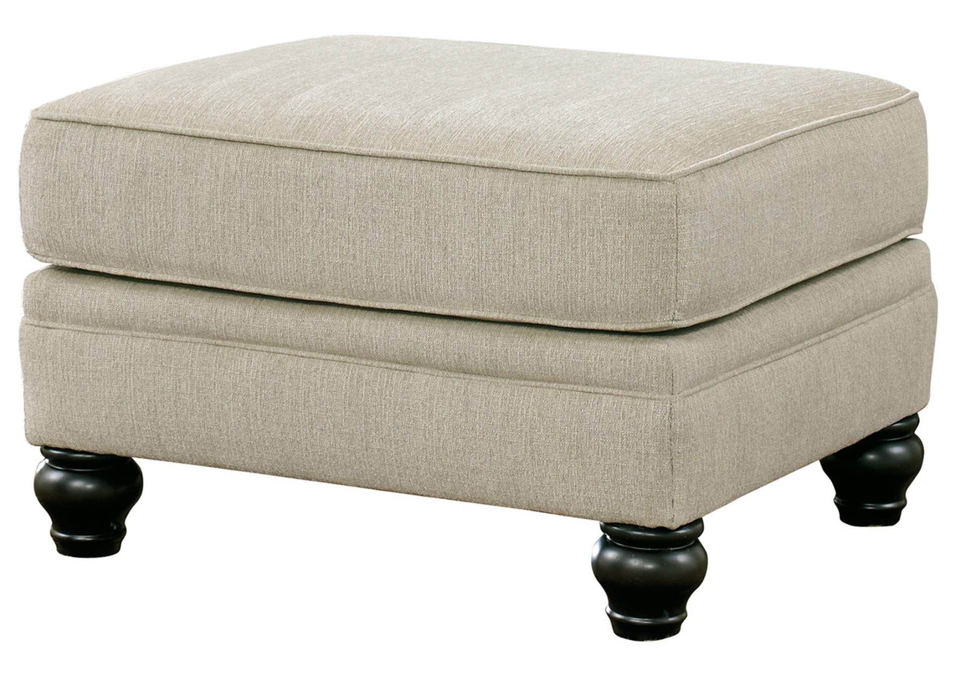 Milari Linen Ottoman,Signature Design By Ashley