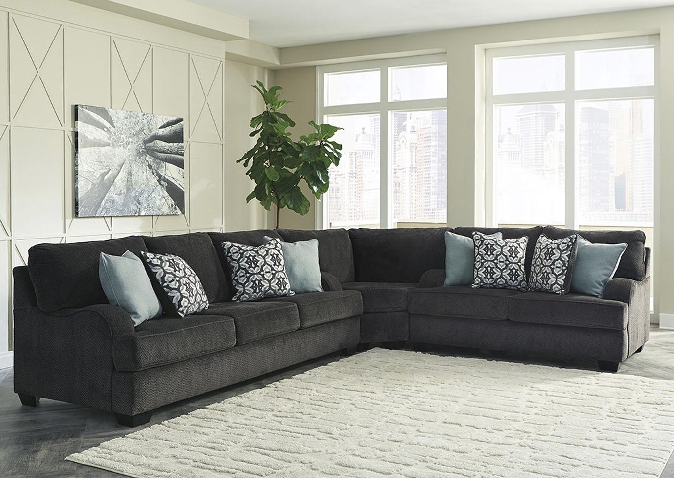 Utah Furniture Direct - Ogden, Utah Charenton Charcoal Sectional