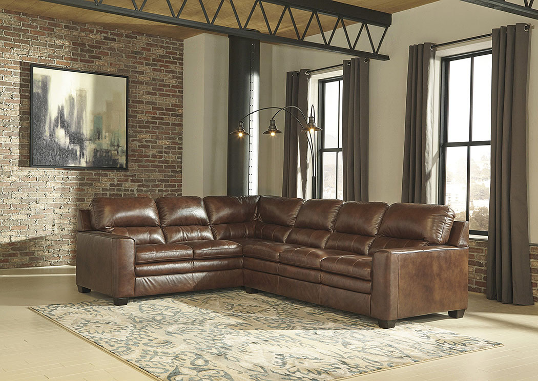 Gleason Canyon Left Facing Sofa Sectional,Signature Design By Ashley