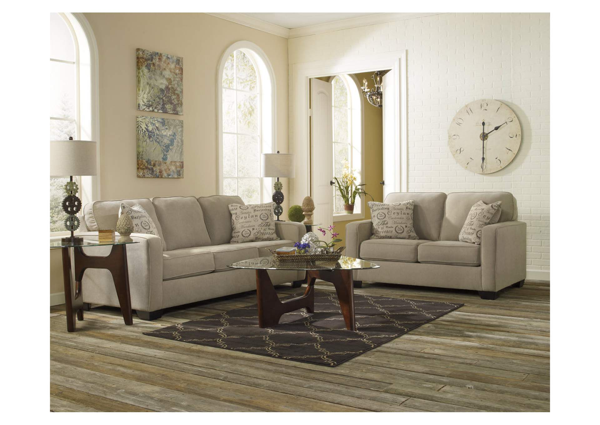 Alenya Quartz Sofa & Loveseat,Signature Design By Ashley