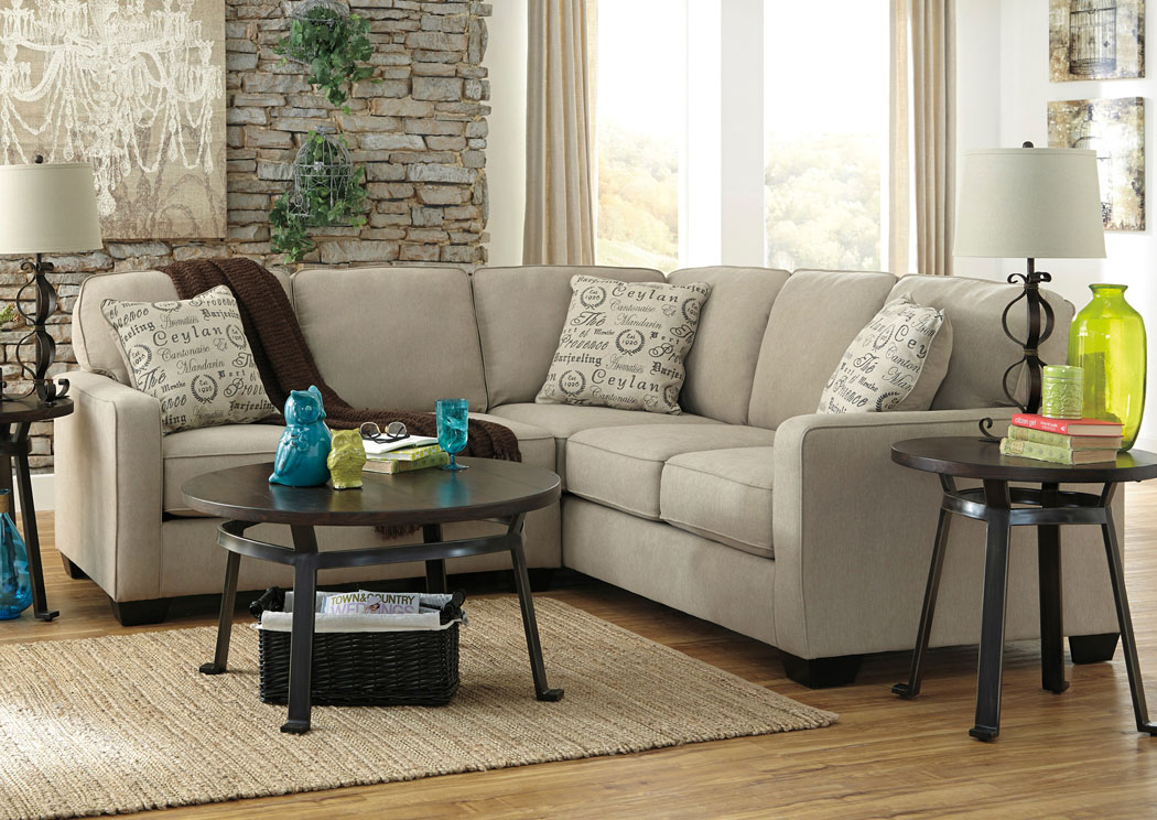 Alenya LAF Quartz Sectional,Signature Design By Ashley