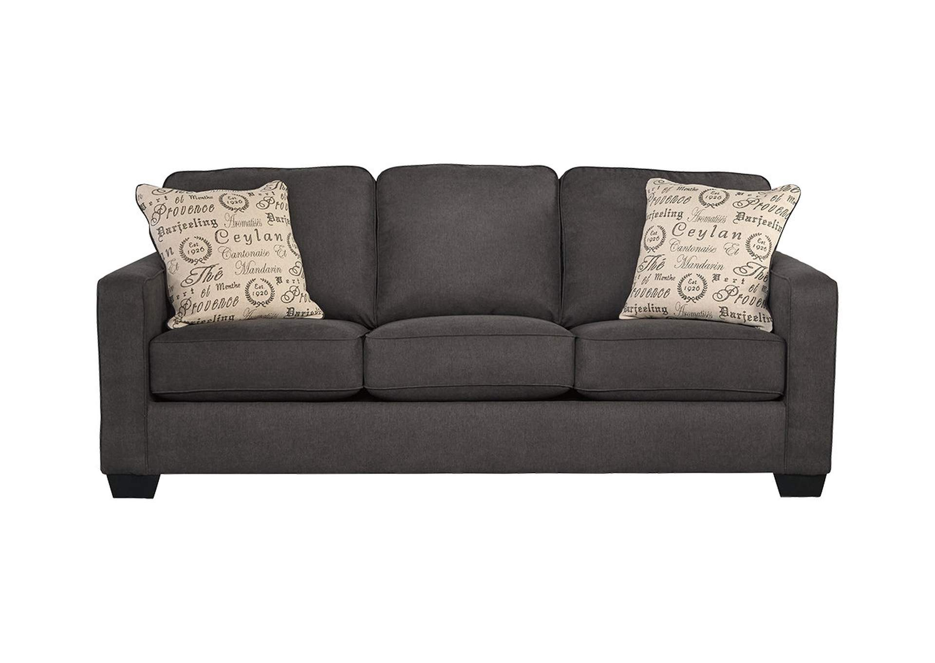 Alenya Charcoal Queen Sofa Sleeper,Signature Design By Ashley