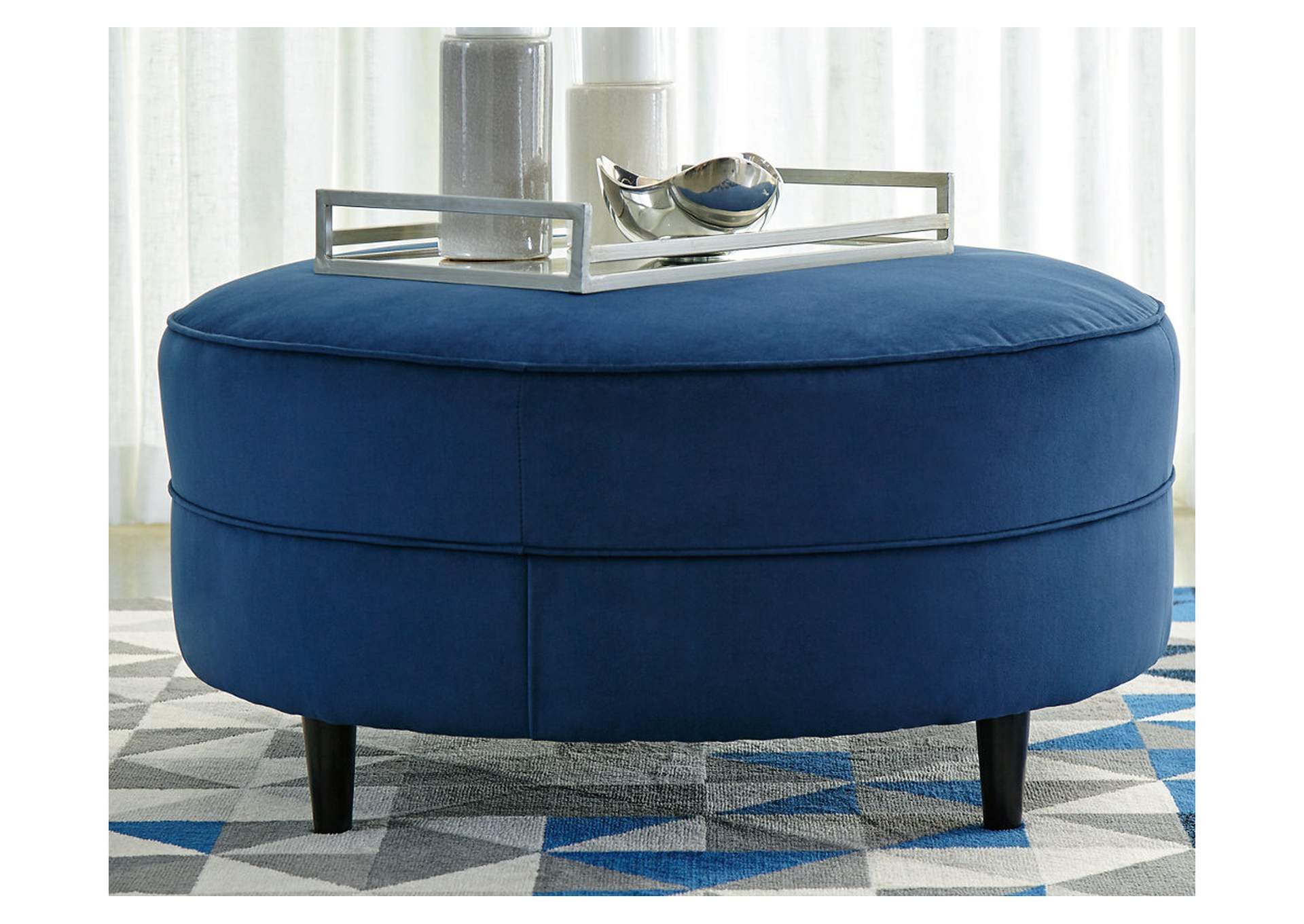 Enderlin Ink Oversized Ottoman,Signature Design By Ashley