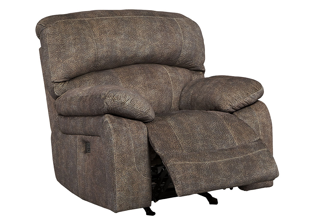 Cannelton Tri-Tone Gray Power Reclining Rocker,Signature Design By Ashley