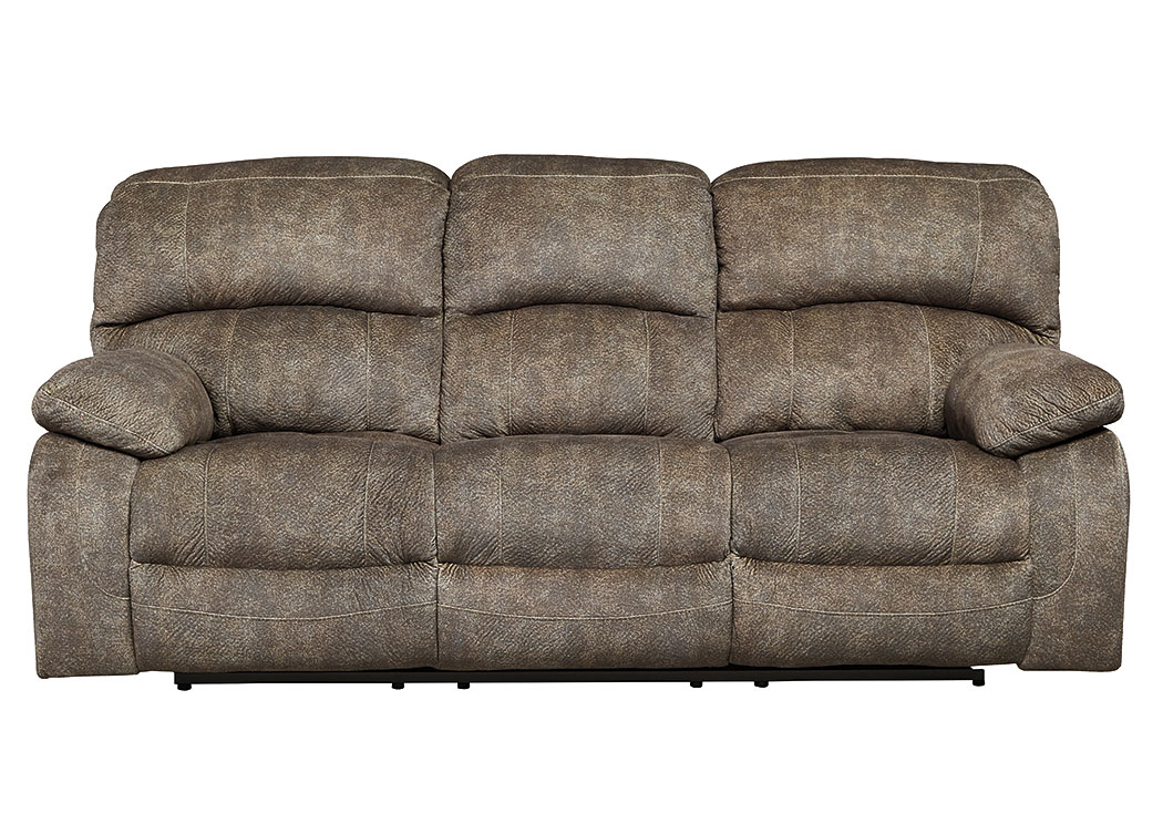 Cannelton Tri-Tone Gray Power Reclining Sofa,Signature Design By Ashley