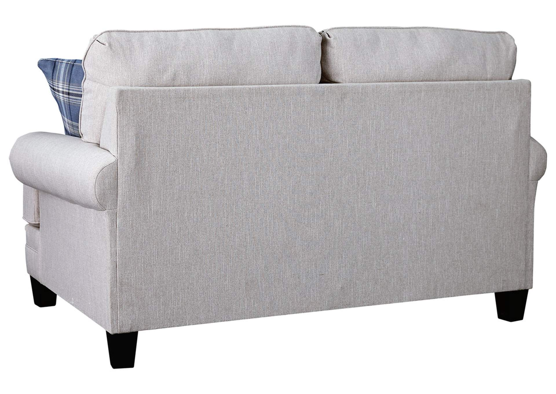 Reevesville Silver Loveseat,Ashley