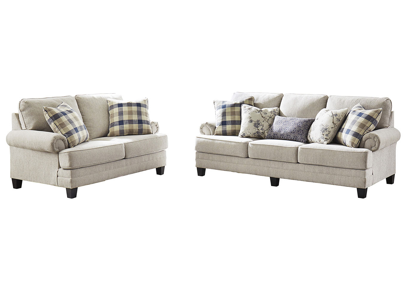 Phenomenal Ivan Smith Meggett Linen Sofa And Loveseat Alphanode Cool Chair Designs And Ideas Alphanodeonline