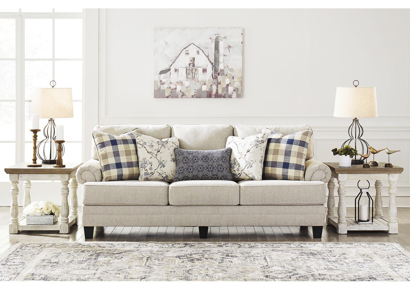 Meggett Linen Sofa Jerusalem Furniture Philadelphia Furniture