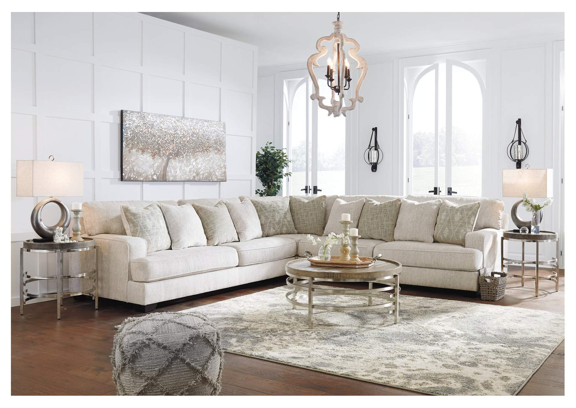 Rawcliffe 3 Piece Sectional,Signature Design By Ashley