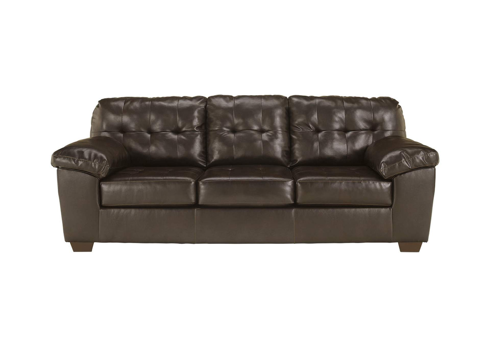 Alliston DuraBlend Chocolate Queen Sofa Sleeper,Signature Design By Ashley