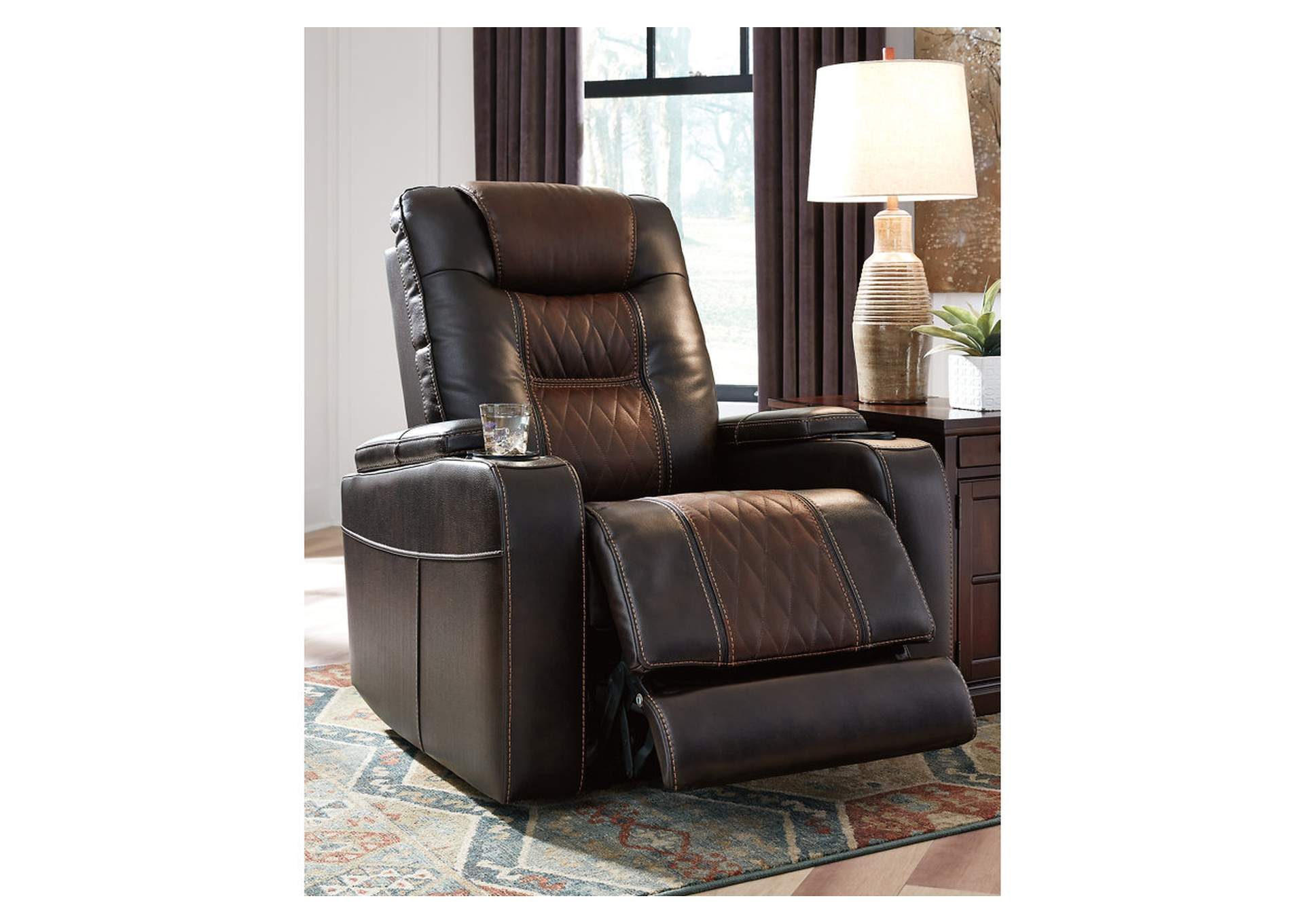 Composer Brown Power Recliner,Signature Design By Ashley
