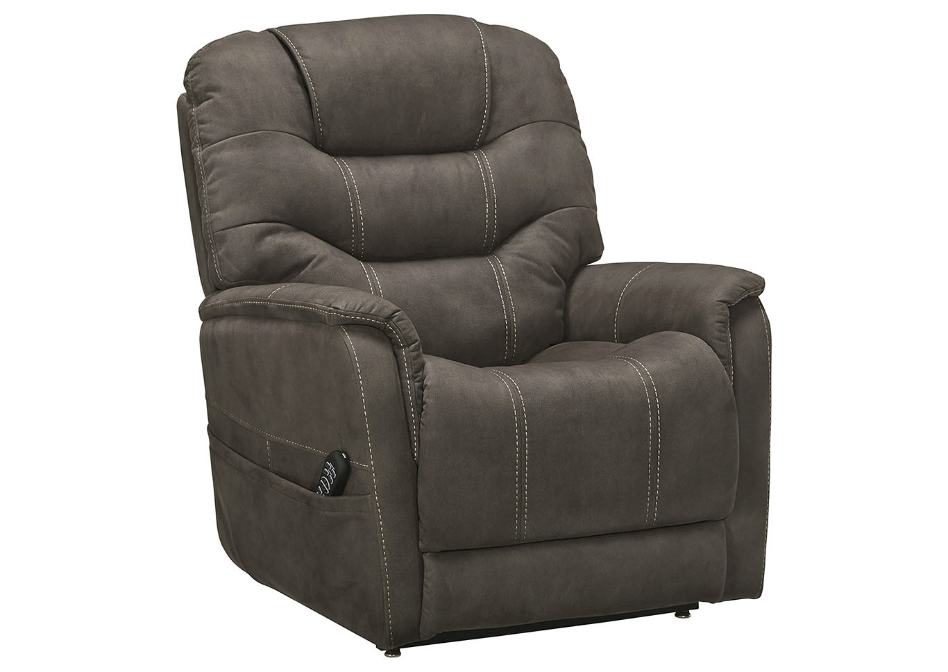 Ballister Gunmetal Power Lift Recliner,Signature Design By Ashley