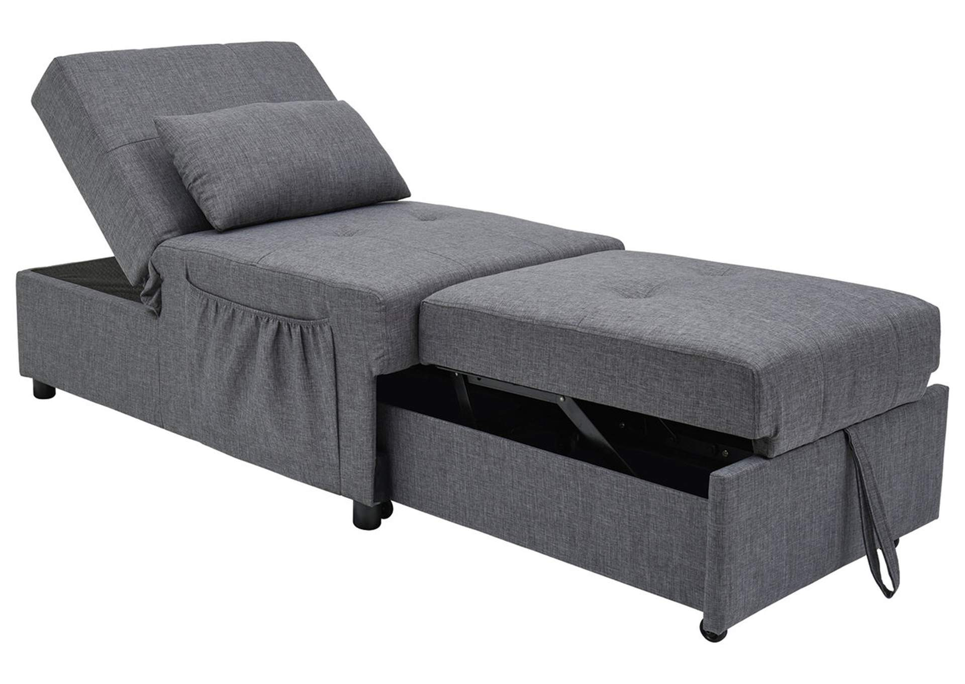 - Thrall Single Seat Pop Up Sleeper Best Buy Furniture And Mattress