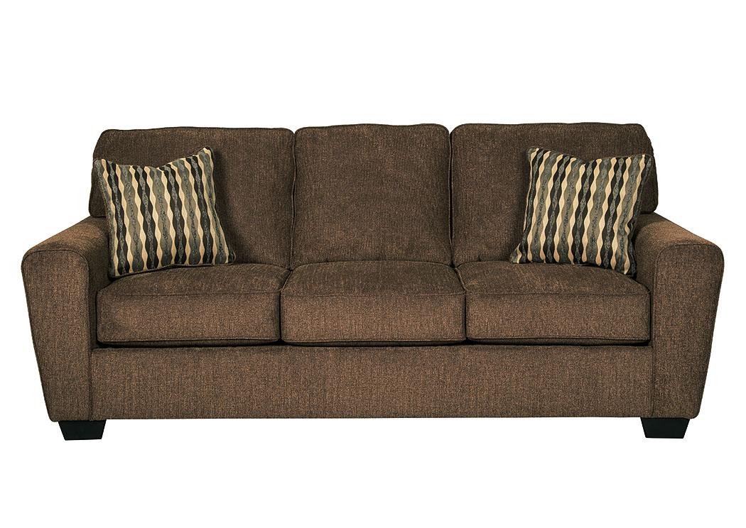Kensington Furniture Landoff Walnut Sofa