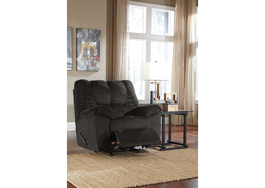 Julson Ebony Rocker Recliner,Signature Design By Ashley
