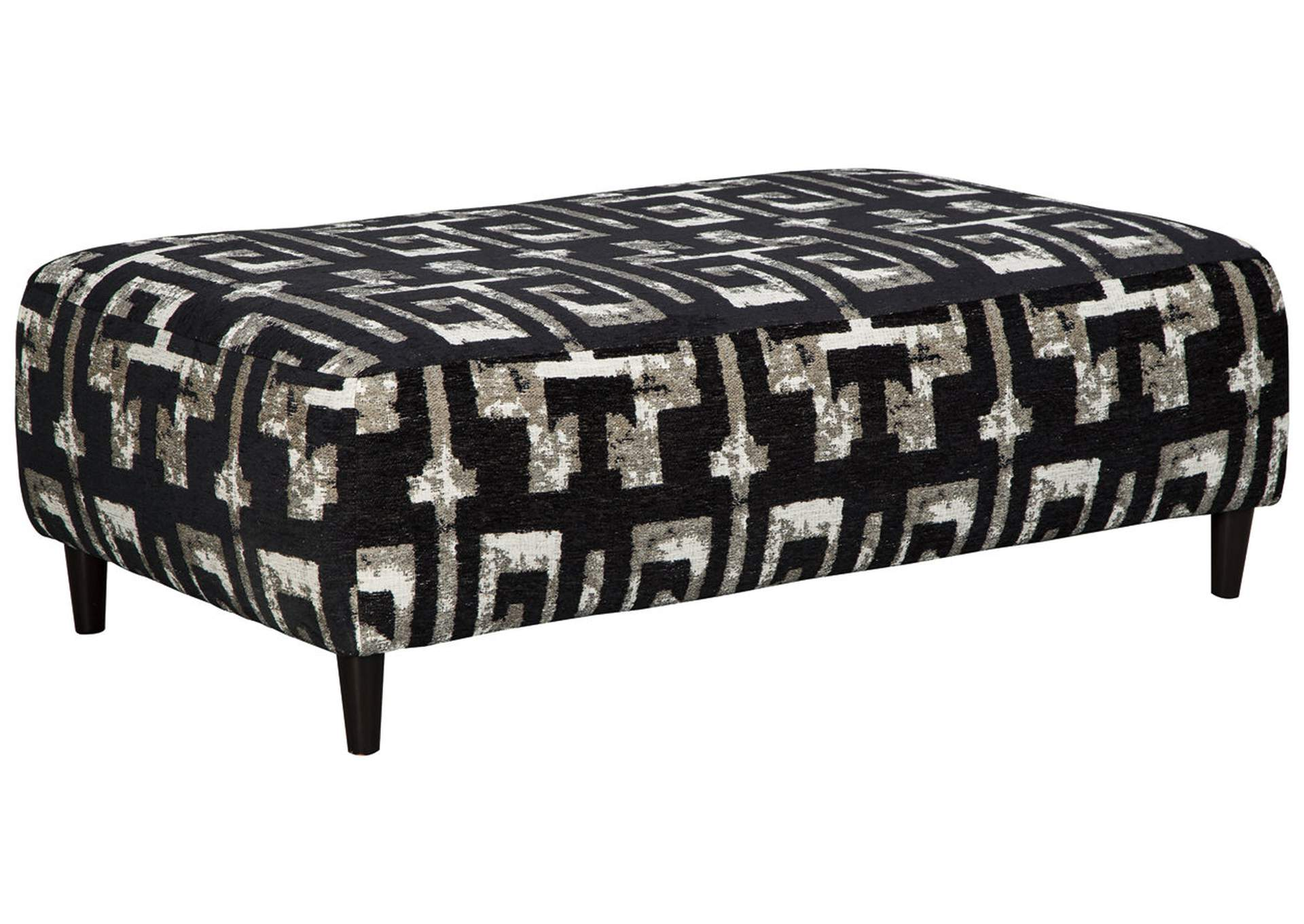 Ravenstone Flint Oversized Accent Ottoman,Signature Design By Ashley