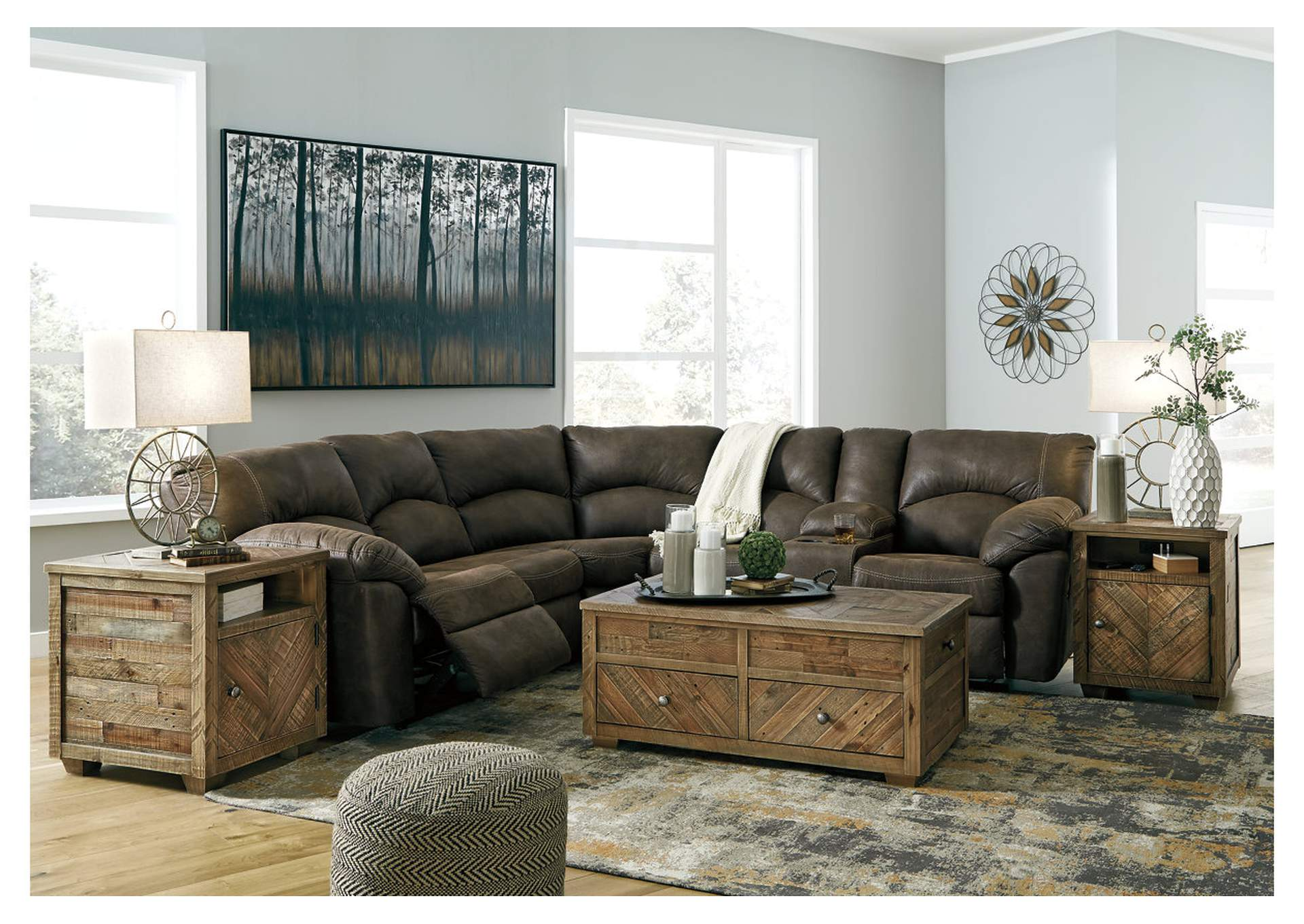 Tambo Brown Sectional,Signature Design By Ashley