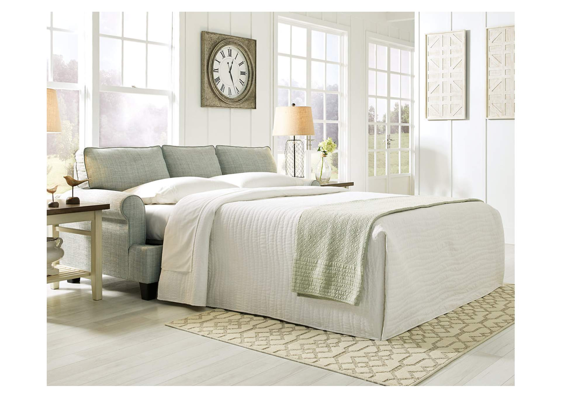 Kilarney Mist Queen Sofa Sleeper,Signature Design By Ashley