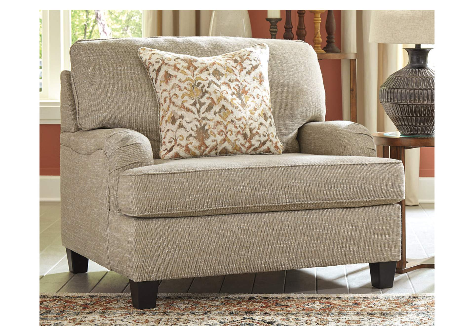Almanza Wheat Oversized Chair,Signature Design By Ashley