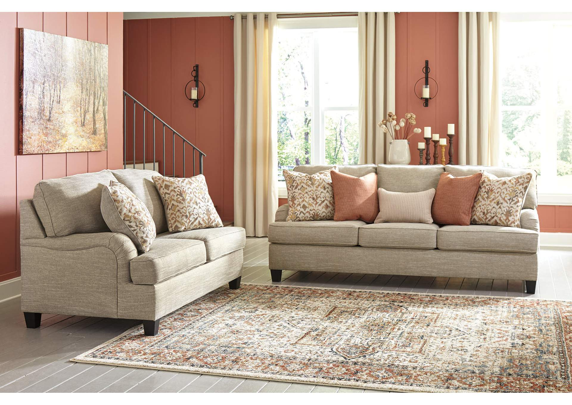 Almanza Sofa & Loveseat,Signature Design By Ashley