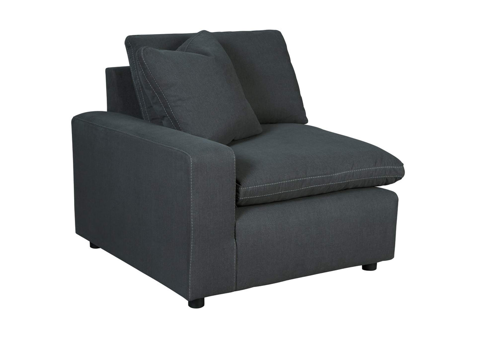 Savesto Charcoal LAF Corner Chair,Signature Design By Ashley