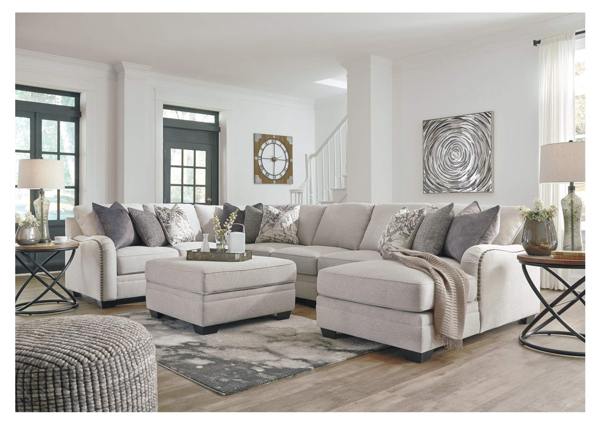 Dellara Chalk Sectional,Signature Design By Ashley