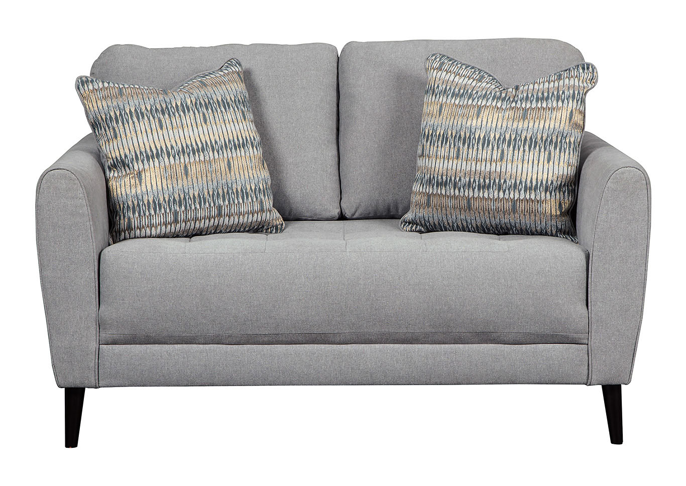 Beau Cardello Steel Loveseat,Signature Design By Ashley