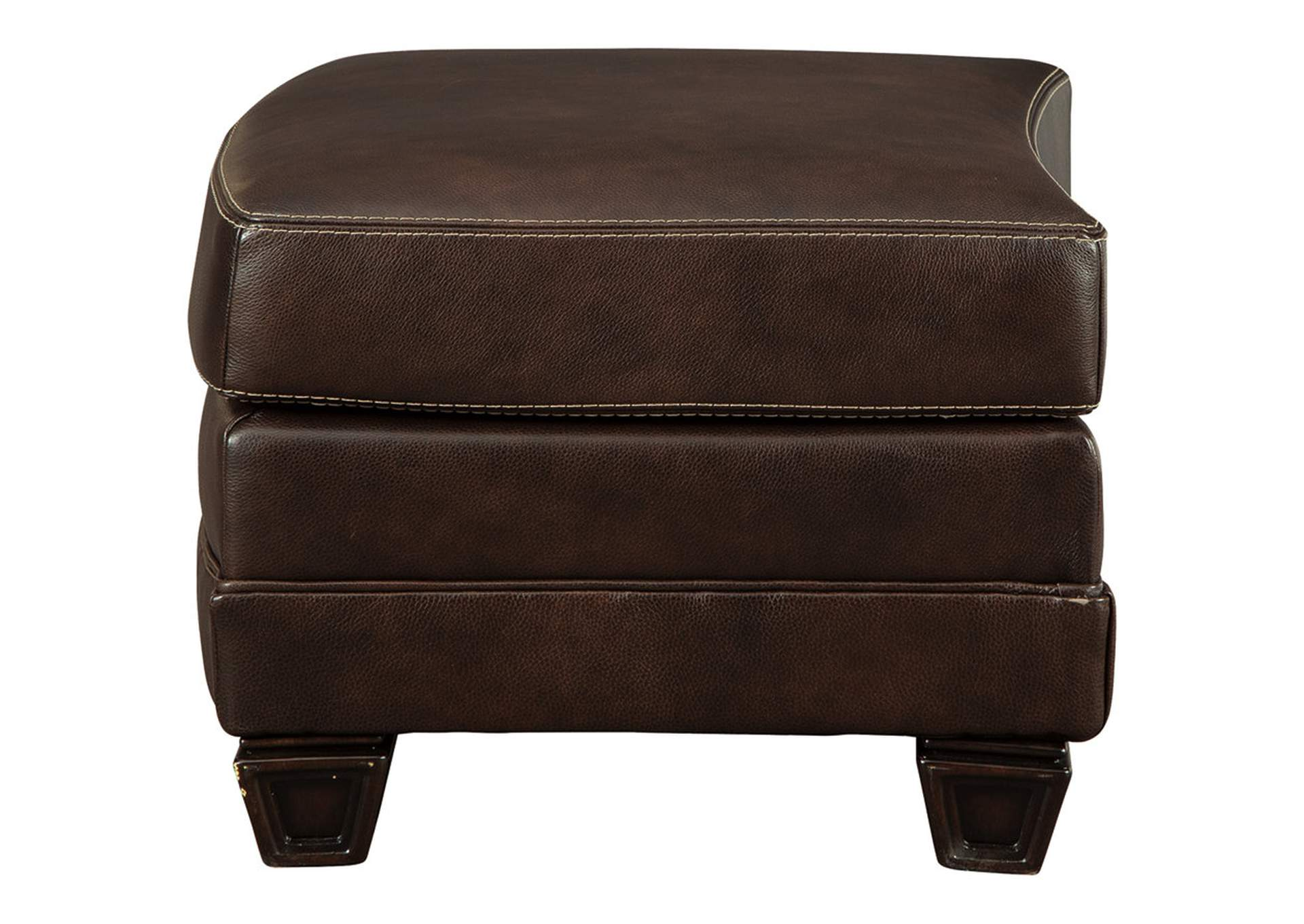 Embrook Chocolate Ottoman,Signature Design By Ashley
