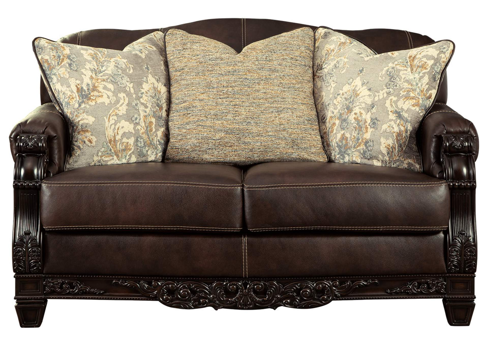 Embrook Chocolate Loveseat,Signature Design By Ashley