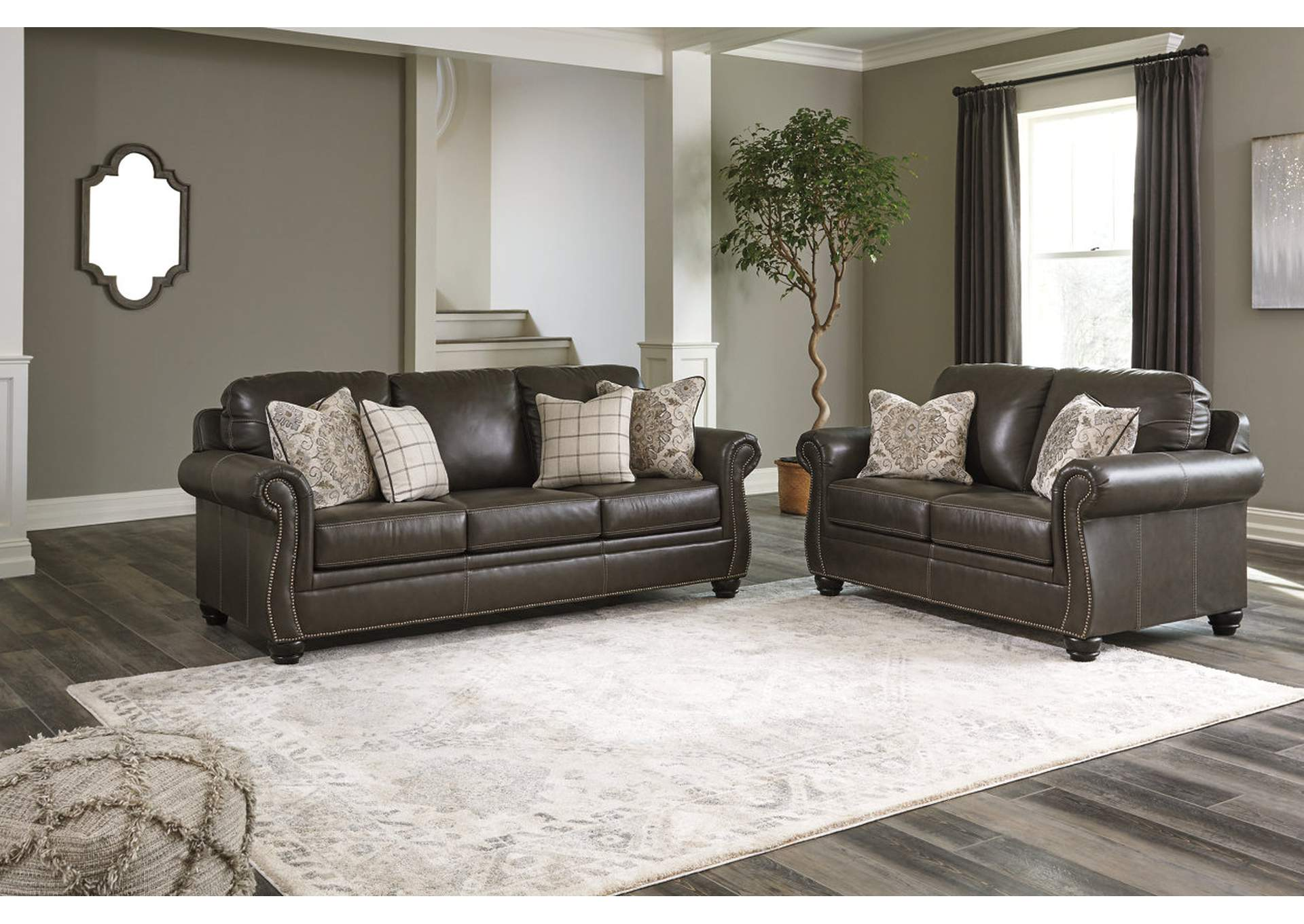 Lawthorn Slate Sofa and Loveseat,Signature Design By Ashley
