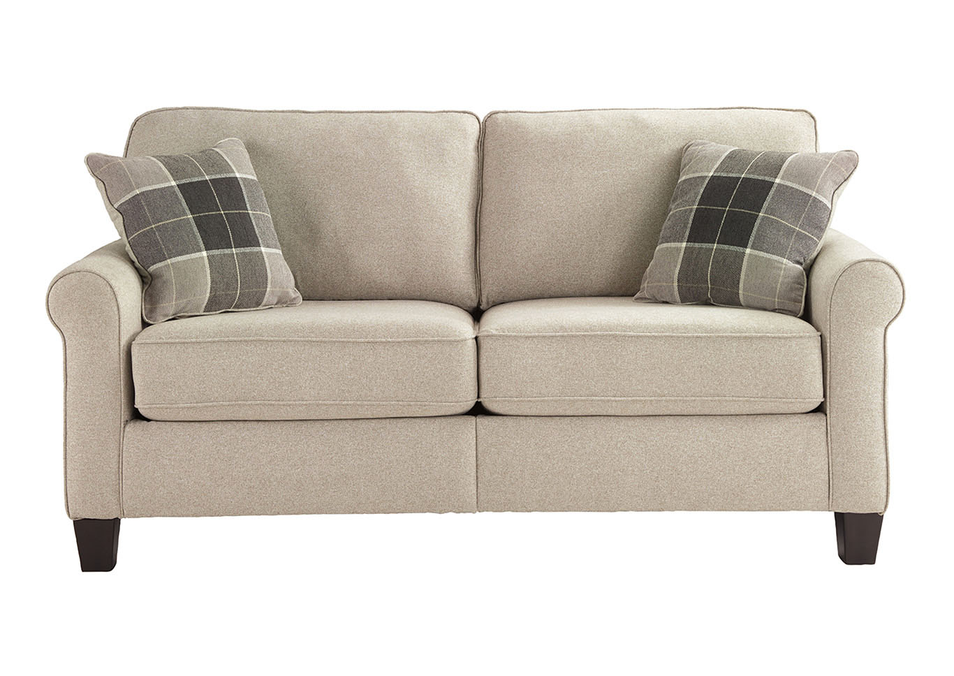 Lingen Fossil Loveseat,Signature Design By Ashley