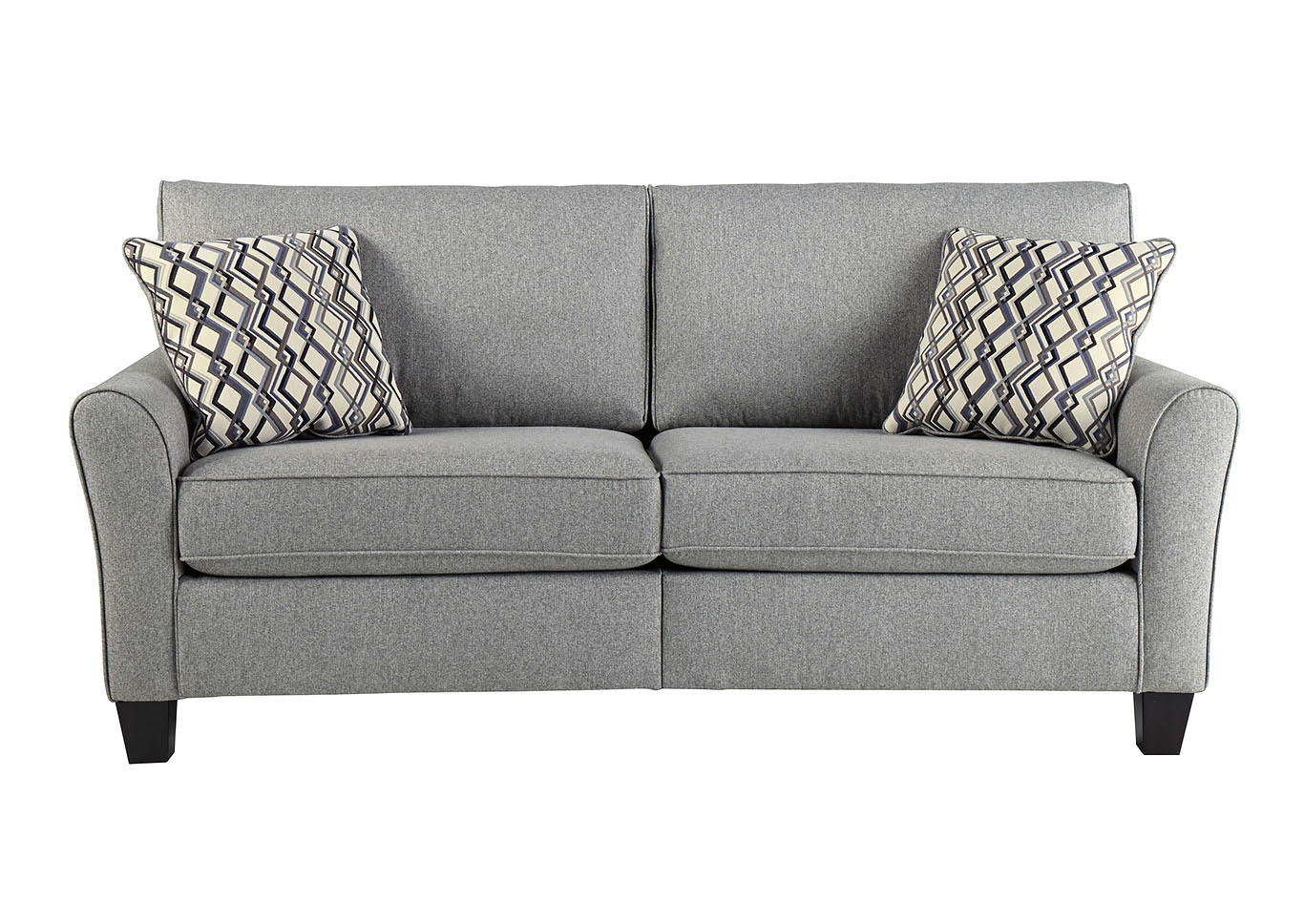 Strehela Silver Sofa,Signature Design By Ashley