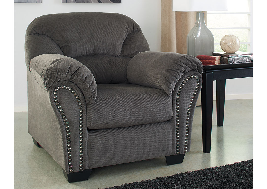 Brothers Fine Furniture Kinlock Charcoal Chair